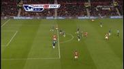 Манчестър Юнайтед - Сток Сити 2:1 - гол на Нани