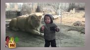 Първи срещи в зоопарка :D