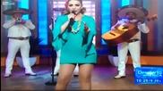 Певица стана жертва на кофти гаф по телевизията
