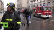 Italy: Firefighters clear May Day damage after protest turns violent in Milan