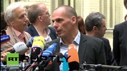 """Germany: """"It is time to stop pointing fingers"""" and to """"come to an agreement"""" - Varoufakis"""
