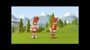 Талисманите На Евро 2008 - Супер Яка Анимация