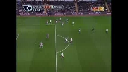 Flamini Vs Aston Villa