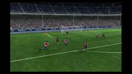 Fifa 2011 Гол на Давид Вия