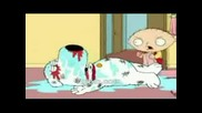 Family Guy - Stewie Beats Up Brian