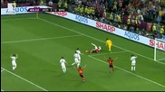 Евро 2012 - Испания 2:0 Франция - Испания развали френското проклятие, чака ни иберийски полуфинал !