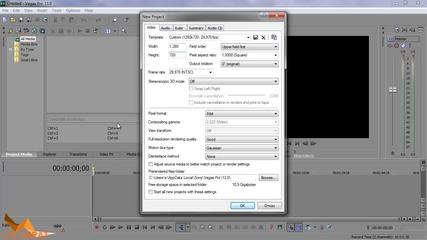 Как да конвертираме в Hd формат (за начинаещи) - Sony Vegas Pro 13 Tutorials епизод 12