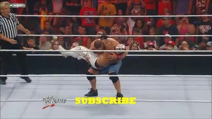 Wwe John Cena vs Rey Mysterio 2012 (highlights)