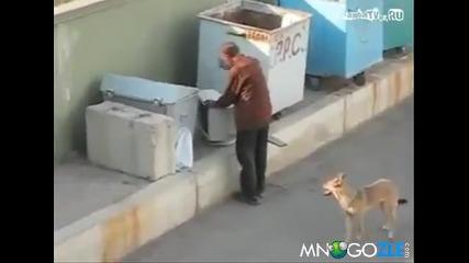Клошар срещу монитор