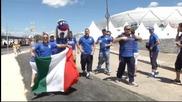 Атмосферата преди Англия – Италия