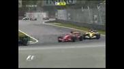 Зловещата катастрофа на Роберт Кубица в Гран при на Канада