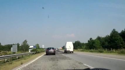Ford Escort Mk 4 на магистралата