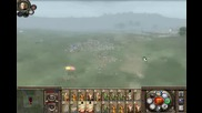 Medieval total war 2 kingdoms battle #1