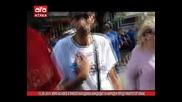 Хора на Нфсб в Ямбол нападнаха кандидат за народен представител от Атака, 12.09.2014г