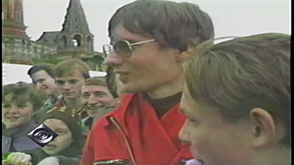 Кацането на Матиас Руст в Москва, 1987 г.