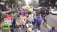 USA: Protesters demand Chicago create police accountability council