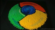Икона Изработен от домино - Google Chrome