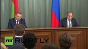 Russia: 'Actions in Syria are absolutely consistent with international law' - Belarusian FM