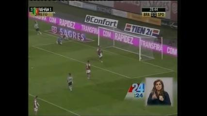 """""""Спортинг Лисабон"""" спечели с 3:2 гостуването си на """"Брага"""""""
