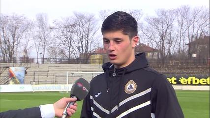 Играчът на мача Стефан Велков: Толкова слаб Берое не съм виждал