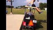 Фал с количка за голф