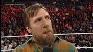 Суперзвездата на Wwe Daniel Bryan се сбогува с публиката и напуска кеча!