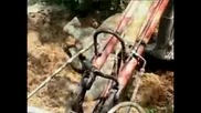 Индийски слон избегна опасност