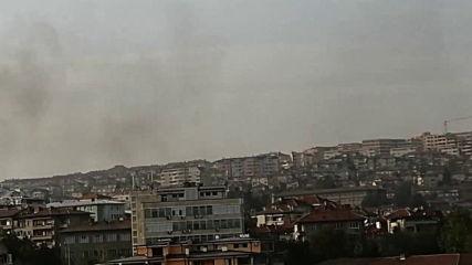 Пожар във Велико Търново