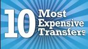 Топ 10 на най - скъпите трансфери на футболисти за всички времена