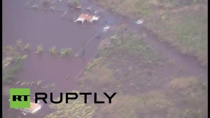 Бахамите: Оглед на щетите нанесени от урагана Хоакин