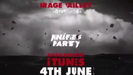 Knife Party - Bonfire
