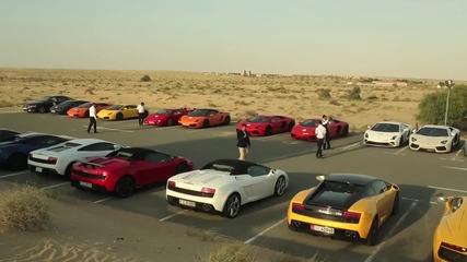 Това видео ще ви запали кръвта! Lamborghini