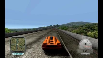 Koenigsegg Ccx прави 415 км/ч