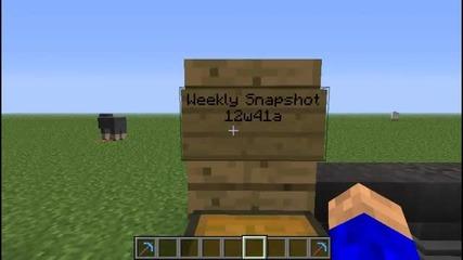 Minecraft Weekly Snapshot 12w41a