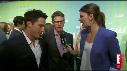 Michael Trevino and Zach Roerig - Дневниците на вампира сезон 4