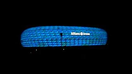 Allianz Arena - Смяна На Цветовете