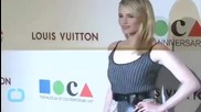 Whoops! Dianna Agron Suffers Nip Slip At Fashion Gala