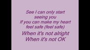 Vanessa Hudgens - Say Ok Lyrics