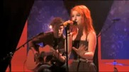 Paramore Misery Business live Mtv unplugged