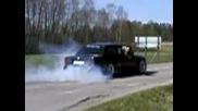 BMW Turbo E30 Burnout