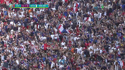 Унгария - Франция 1:1 /репортаж/