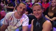 Dancing Stars - Тереза Маринова и Александър Сано подкрепят Нели и Наско (22.05.2014г.)