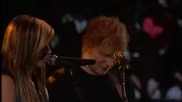 Ed Sheeran and Christina Grimmie - All of the stars (live)