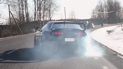 Bmw M5 1000whp and Superretards Spring action