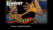 Muay Thai - wrapping hands