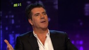 Piers Morgan with Simon Cowell - Uncut 2/7