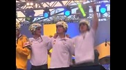 Швеция поздрави световните си шампиони по хокей на лед