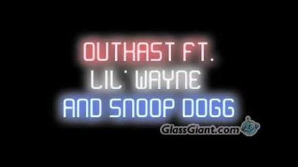 Outkast Ft. Lil' Wayne & Snoop Dogg - Hollywood Divorce !