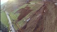Огромна скала спря на сантиметри от къща в Италия 21.01.2014