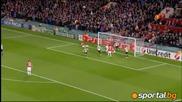 Головете в мача Бенфика - Ман. Юнайтед 2:2